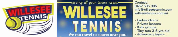 Willesee Tennis | willeseetennis.com.au | James Willesee