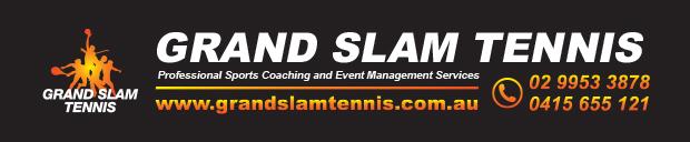 Grand Slam Tennis | grandslamtennis.com.au | Cammeray Tennis Club